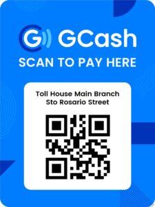 Toll House Main Branch GCash QR Code