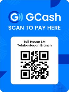 Toll House SM Telabastagan GCash QR Code