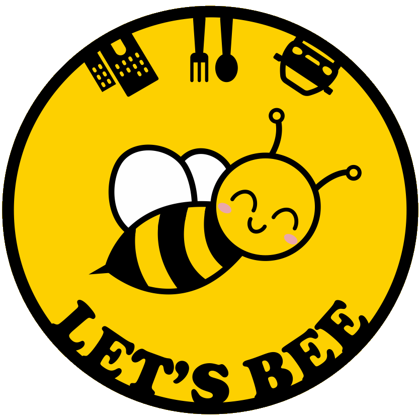 This image has an empty alt attribute; its file name is lets-bee-logo-1.png